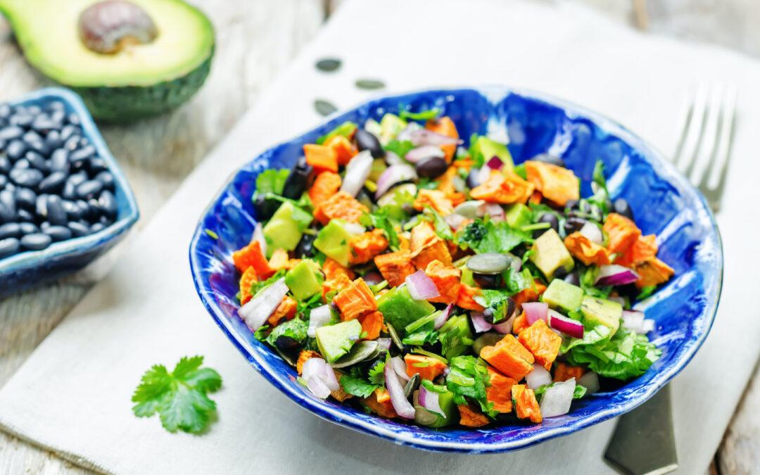 Southwest Sweet Potato Chopped Salad